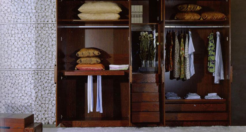 衣柜面材案例